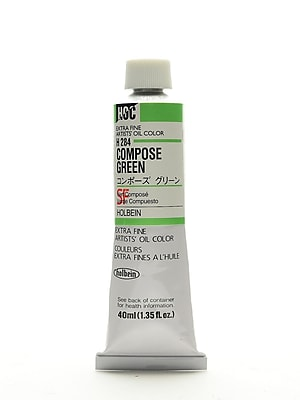 Holbein Artist Oil Colors Compose Green 40 Ml (H284)