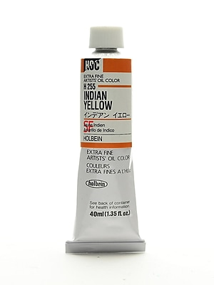 Holbein Artist Oil Colors Indian Yellow 40 Ml (H255)