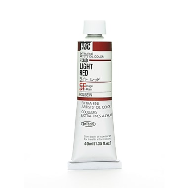 Holbein Artist Oil Colors Light Red 40 Ml [Pack Of 2] (2PK-H340)