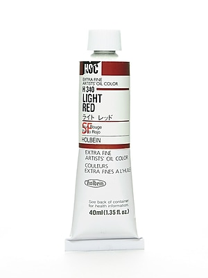 Holbein Artist Oil Colors Light Red 40 Ml (H340)