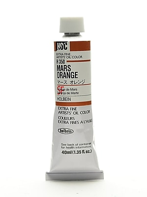 Holbein Artist Oil Colors Mars Orange 40 Ml (H350)