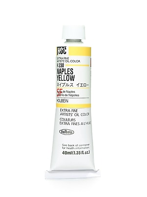 Holbein Artist Oil Colors Naples Yellow 40 Ml (H230)