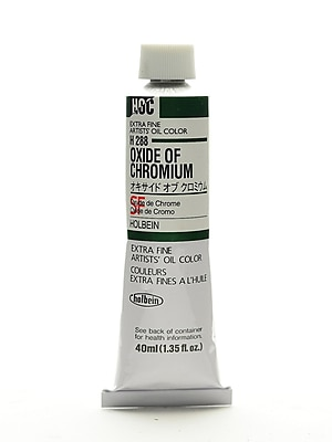 Holbein Artist Oil Colors Oxide Of Chromium 40 Ml (H288)