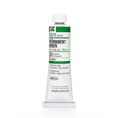 Holbein Artist Oil Colors Permanent Green 40 Ml [Pack Of 2] (2PK-H279)