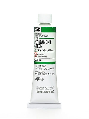 Holbein Artist Oil Colors Permanent Green 40 Ml (H279)