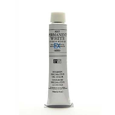Holbein Artist Oil Colors Permanent White Ex 110 Ml (H517)