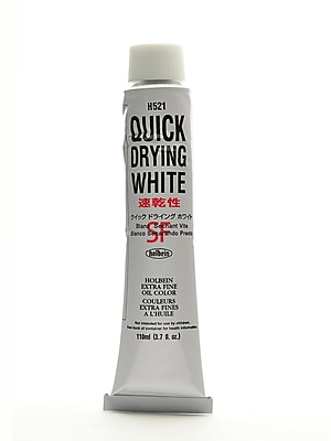 Holbein Artist Oil Colors Quick Dry White 110 Ml (H521)