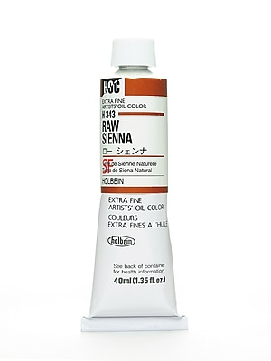 Holbein Artist Oil Colors Raw Sienna 40 Ml (H343)