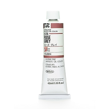Holbein Artist Oil Colors Rose Grey 40 Ml [Pack Of 2] (2PK-H376)