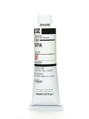 Holbein Artist Oil Colors Sepia 40 Ml (H351)