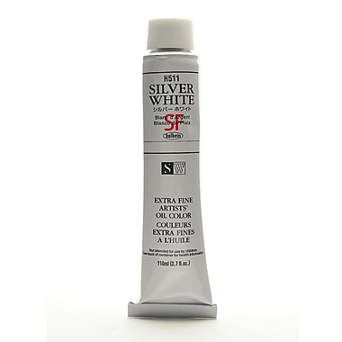 Holbein Artist Oil Colors Silver Flake White 110 Ml (H511)