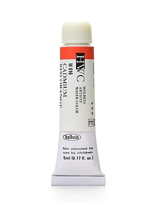 Holbein Artist Watercolor Cadmium Red Orange 5 Ml (W016)