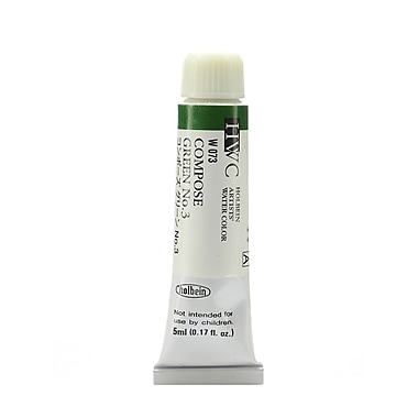 Holbein Artist Watercolor Compose Green #3 5 Ml [Pack Of 2] (2PK-W073)