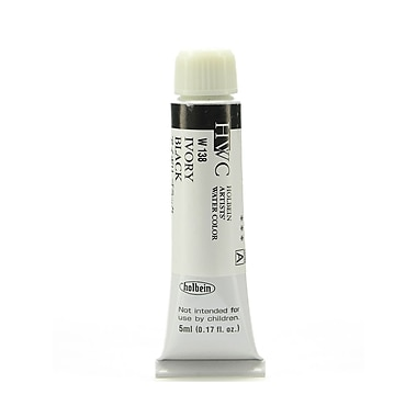 Holbein Artist Watercolor Ivory Black 5 Ml [Pack Of 2] (2PK-W138)