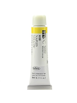 Holbein Artist Watercolor Naples Yellow 5 Ml [Pack Of 2] (2PK-W030) 2137514