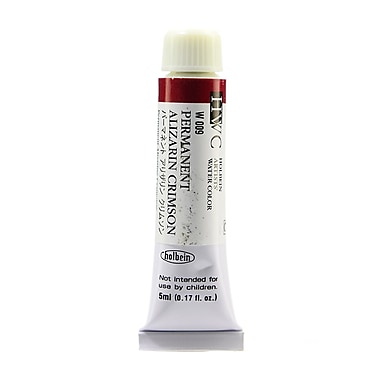 Holbein Artist Watercolor Permanent Alizarin Crimson 5 Ml [Pack Of 2] (2PK-W009)