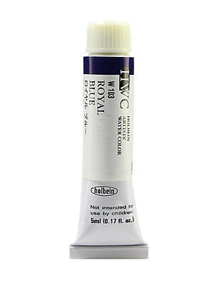 Holbein Artist Watercolor Royal Blue 5 Ml [Pack Of 2] (2PK-W103)