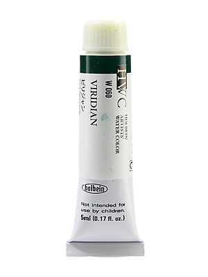 Holbein Artist Watercolor Viridian 5 Ml [Pack Of 2] (2PK-W060)