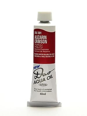 Holbein Duo Aqua Artist Oil Color Alizarin Crimson 40 Ml (DU201)