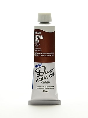 Holbein Duo Aqua Artist Oil Color Brown Pink 40 Ml (DU320)