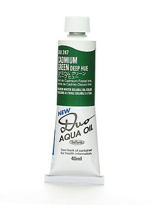 Holbein Duo Aqua Artist Oil Color Cadmium Green Deep Hue 40 Ml (DU247)