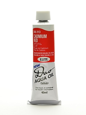 Holbein Duo Aqua Artist Oil Color Cadmium Red 40 Ml (DU213)