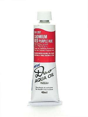 Holbein Duo Aqua Artist Oil Color Cadmium Red Purple Hue 40 Ml [Pack Of 2] (2PK-DU207)