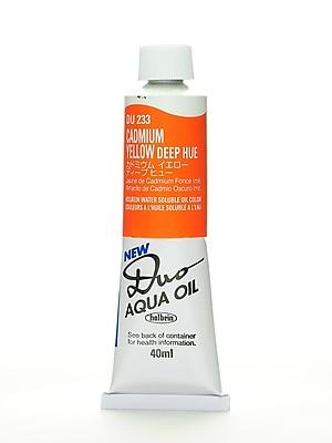 Holbein Duo Aqua Artist Oil Color Cadmium Yellow Deep Hue 40 Ml [Pack Of 2] (2PK-DU233)