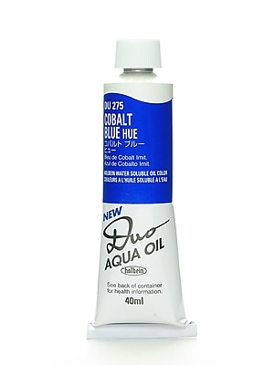 Holbein Duo Aqua Artist Oil Color Cobalt Blue Hue 40 Ml (DU275)