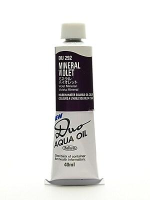 Holbein Duo Aqua Artist Oil Color Mineral Violet 40 Ml (DU292)