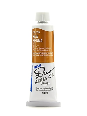 Holbein Duo Aqua Artist Oil Color Raw Sienna 40 Ml [Pack Of 2] (2PK-DU316)