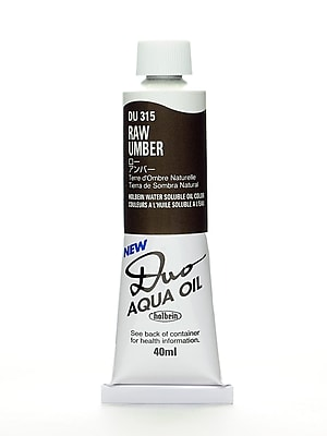 Holbein Duo Aqua Artist Oil Color Raw Umber 40 Ml [Pack Of 2] (2PK-DU315)
