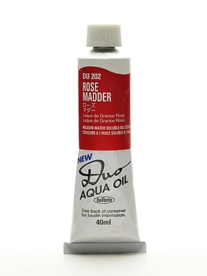 Holbein Duo Aqua Artist Oil Color Rose Madder 40 Ml (DU202)