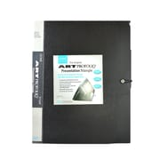 Itoya Art Portfolio Presentation Triangle 11 In. X 14 In. Black (AT-11-14)