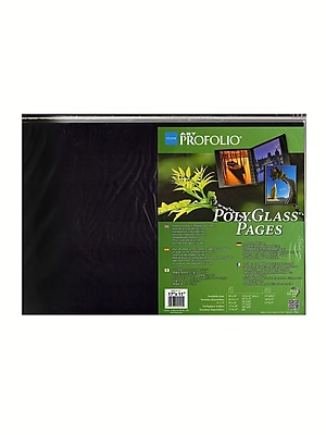 Itoya Polyglass Pages 17 In. X 11 In. Horizontal Pack Of 10 (HPR-17-11)