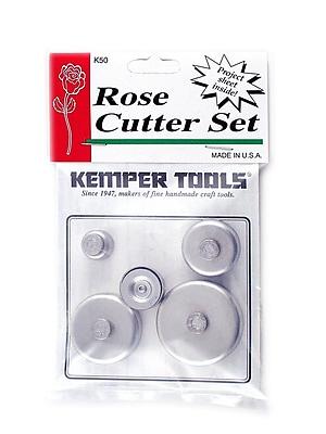 Kemper Rose Cutter Set Set Of 5 (K50)