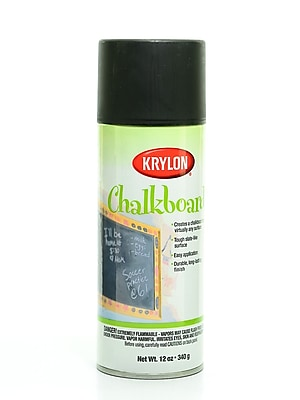 Krylon Chalkboard Finish Black 16 Oz. (I00807)