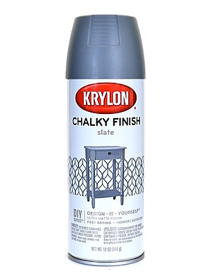 Krylon Chalky Finish Paint Slate 12 Oz. (4103)