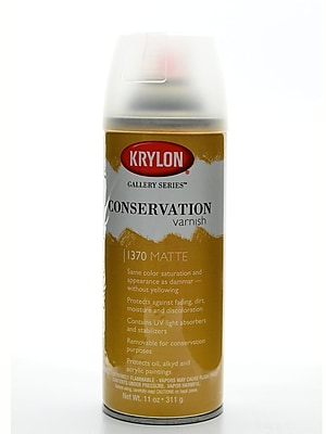 Krylon Conservation Varnish Matte 11 Oz. Can (1370)