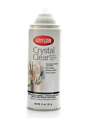 Krylon Crystal Clear 11 Oz. Each (K01303)