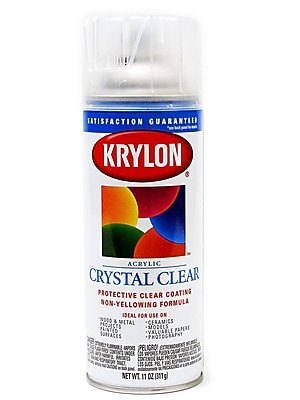 Krylon Crystal Clear Universal Coating 11 Oz. (51301)