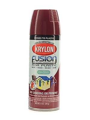 Krylon Fusion Spray Paint For Plastic Burgundy Gloss (2325)