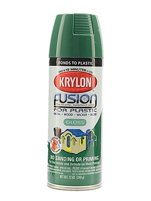 Krylon Fusion Spray Paint For Plastic Spring Grass Gloss (2327)