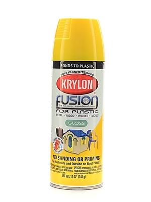 Krylon Fusion Spray Paint For Plastic Sunbeam Gloss (2330)