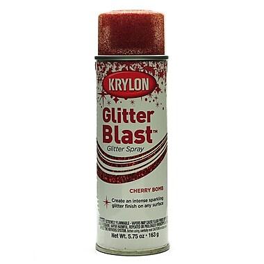 Krylon Glitter Blast Spray Paints Cherry Bomb 5 3/4 Oz. (3806)