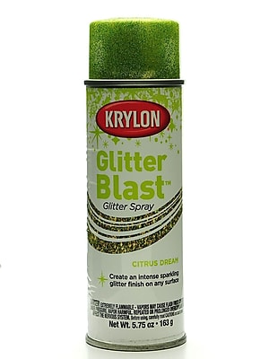 Krylon Glitter Blast Spray Paints Citrus Dream 5 3/4 Oz. (3808)