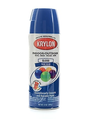 Krylon Indoor/Outdoor Spray Paint Gloss True Blue (51910)