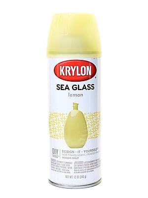 Krylon Sea Glass Finish Lemon (9054)