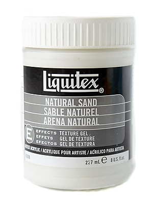 Liquitex Acrylic Texture Gel Mediums Natural Sand 8 Oz. [Pack Of 2] (2PK-6508)