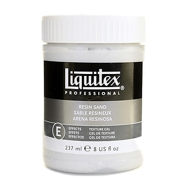 Liquitex Acrylic Texture Gel Mediums Resin Sand 8 Oz. [Pack Of 2] (2PK-6608)